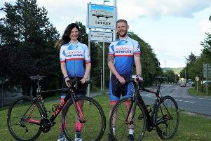 Lucy Ritchie and Pete Lowson will fly the flag for Inverurie