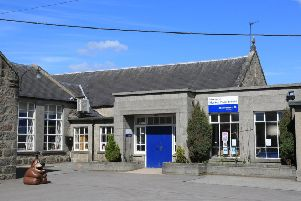 The former Inverurie Market Place School