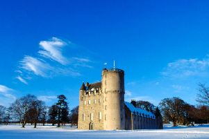 Castle Fraser is one of five north east properties offering free entry to Lottery players
