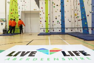 "If you have fancied trying indoor rock climbing why not ""Gie it a Go""?"