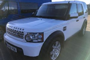 This Land Rover Discovery TDV6 Commercial Auto sold for �7,500