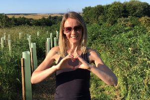 Louisa McKay, who runs King Edward-based Field Yoga