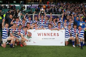Warwick School Under-18s tasted success again at Twickenham in the Schools Cup. Pictures: Capture the Event