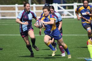 Stav Williams in Intermediate Cup action for Kenilworth.