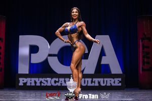 Antonia Mander after victory in the Welsh Championships.