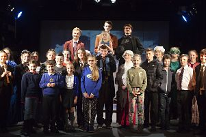The cast of A Christmas Carol  (photo supplied)