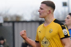 Brakes striker Colby Bishop has been in prolific form since his return from injury.