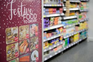 Festive food sales were up at Lincolnshire Co-op last year.