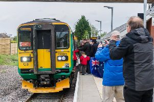 Kenilworth Station opened on Monday April 30, 2018 after several delays