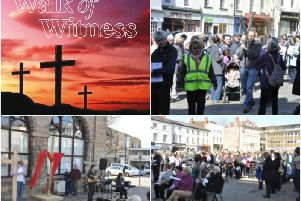 Residents are being invited to join the annual Walk of Witness and service. Photos submitted.