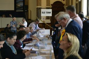 Eastbourne local elections May 2019 (Photo by Jon Rigby) SUS-190305-143309001