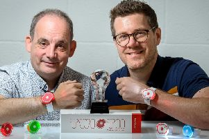 Mark Habberley & Darrell Butler have invented a new torch called the Twistii which has won an award and appeared on TV.