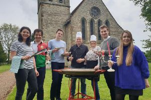A service with a difference at Newbold Pacey church