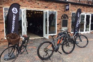 The Electric Bike Shop in Hatton Shopping Village.