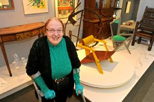 Rosalinda Hardiman at the Portsmouth City Museum, where she acts as a heritage and museums consultant. Picture: Ian Hargreaves (150231-1)