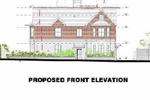 Plans for eight flats, replacing an Edwardian property, have been approved