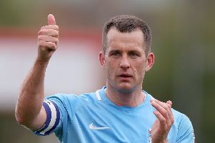 Former Coventry City skipper Michael Doyle is bringing a Legends XI to the Phillips 66 Community Stadium on Sunday.