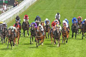Action from Friday's Unibet Golden Mile / Picture by Malcolm Wells