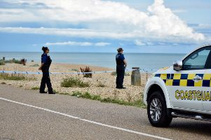 Emergency on Eastbourne seafront, photo Dan Jessup