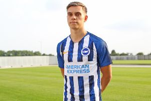Leandro Trossard is set to make his Premier League debut for Brighton