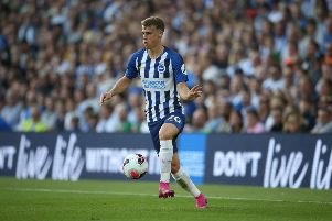 Solly March has adapted well to a new role for Albion this season (getty)