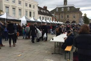 The Warwick Chocolate Festival in 2017.