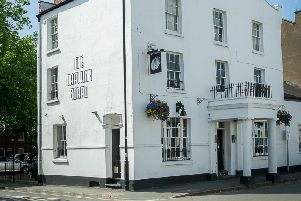 The Drawing Board pub in Newbold Street, Leamington.