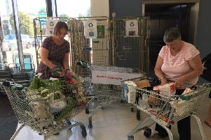 A mass unwrap event was held at Horsham Waitrose over the weekend