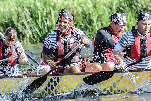Warwick Dragon Boat Race