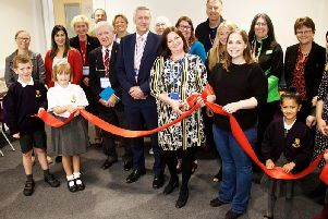 The IT suite was officially opened last week. Photo by Dave Fawbert Photography