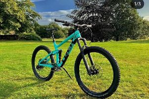 Stolen mountain bike from Mike Vaughan Cycles in Kenilworth