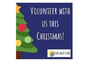 LWS Night Shelter needs volunteers this Christmas. Photo by LWS Night Shelter