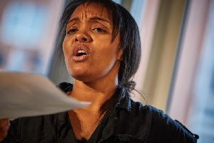 Amahra Spence in Utopia