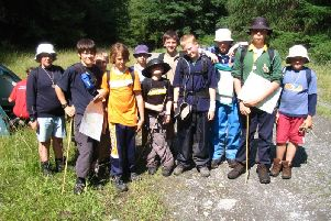 Scout camp from 2004