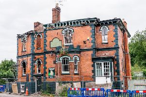 How the former Great Western pub looked after the fire.