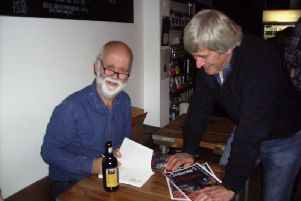 Francis Charters launches his new book Someones Christmas.