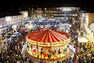 The festive season kicked off in Warwick at the annual Victorian Evening and Christmas lights switch-on this week. Photo by Mike Baker