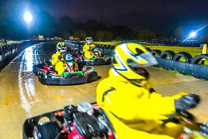 Courier and Weekly News is offering one lucky reader a thrilling after-dark Open Karting Session for six people over the winter months.