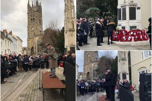 Holocaust Memorial Day in 2019. Photo submitted by Warwick Town Council.