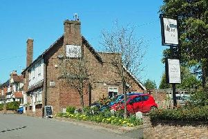 The New Inn pub in Norton Lindsey
