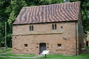 Abbey Barn Museum and Heritage Centre in Abbey Fields