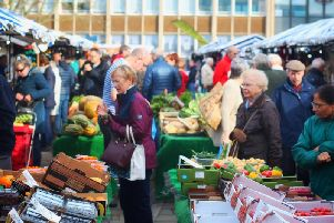 Warwick market will be cancelled this week. Photo by CJ's Events Warwickshire