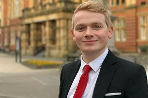 The Labour candidate for the forthcoming Warwickshire Police and Crime Commissioner election Ben Twomey.