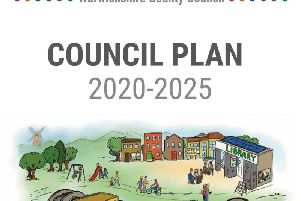 The cover for Warwickshire County Council's Council Plan 2020-2025 document.