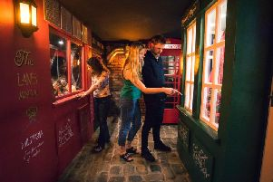 Loot The Lanes has been voted the best escape room in the UK. Picture: Pier Pressure