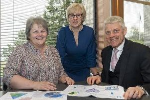 Vice-chair of the IJB, Councillor Anne Stirling, chair of IJB Rhona Atkinson and chief officer of the Aberdeenshire Health & Social Care Partnership,Adam Coldwells have all welcomed the annual report