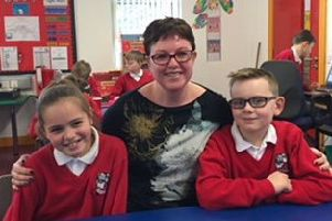 Julie Lowry, primary five teacher, at Islandmagee Primary School, has been nominated for a Best Teacher award.