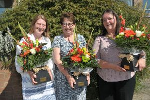 Mrs Heather McManus, Mrs Carol Burch and Mrs Yvonne Dickey.