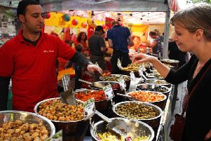 'Flavours of the world' will be coming to Leamington this weekend. Photo provided.