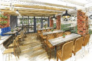 An artist's impression of what the new Bar + Block could look like